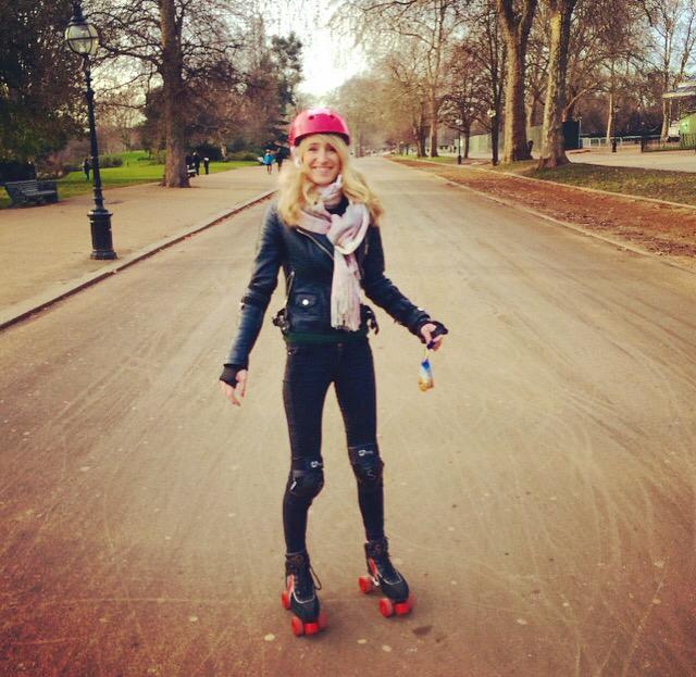 Rollerblading In Hyde Park