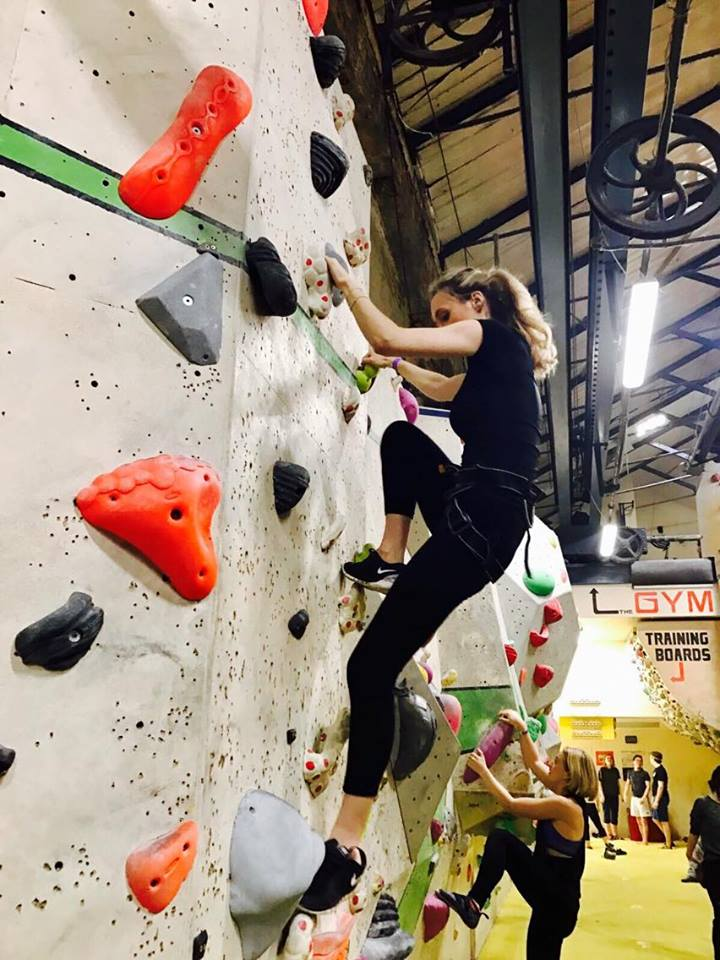 The Rock Climbing Date
